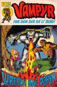 Cover Thumbnail for Vampyr (Interpresse, 1972 series) #10