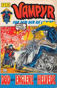 Cover Thumbnail for Vampyr (Interpresse, 1972 series) #2