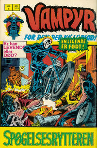 Cover Thumbnail for Vampyr (Interpresse, 1972 series) #1