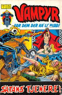 Cover Thumbnail for Vampyr (Interpresse, 1972 series) #3