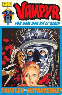 Cover Thumbnail for Vampyr (Interpresse, 1972 series) #4