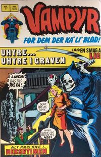 Cover Thumbnail for Vampyr (Interpresse, 1972 series) #7