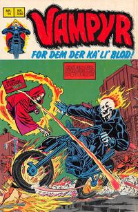Cover Thumbnail for Vampyr (Interpresse, 1972 series) #14