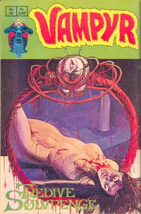 Cover Thumbnail for Vampyr (Interpresse, 1972 series) #15
