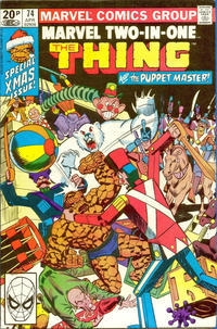 Cover Thumbnail for Marvel Two-in-One (Marvel, 1974 series) #74 [British]