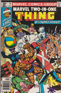 Cover Thumbnail for Marvel Two-in-One (Marvel, 1974 series) #74 [Newsstand]