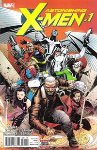 Cover Thumbnail for Astonishing X-Men (Marvel, 2017 series) #1 [Jim Cheung]