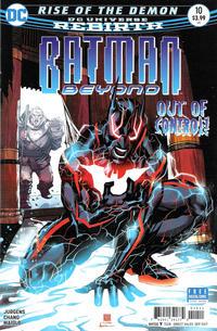 Cover Thumbnail for Batman Beyond (DC, 2016 series) #10