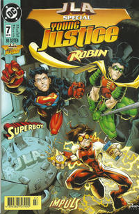 Cover Thumbnail for JLA - Die neue Gerechtigkeitsliga Special (Dino Verlag, 1998 series) #7 - JLA Special Young Justice