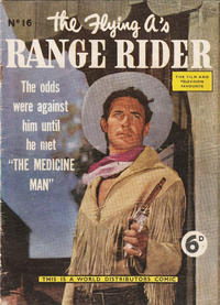 Cover Thumbnail for Flying A's Range Rider (World Distributors, 1954 series) #16