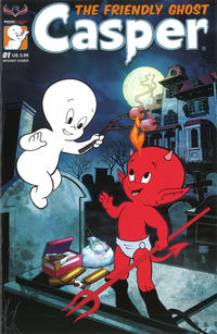 Cover Thumbnail for Casper the Friendly Ghost (American Mythology Productions, 2017 series) #1 [Spooky Cover]