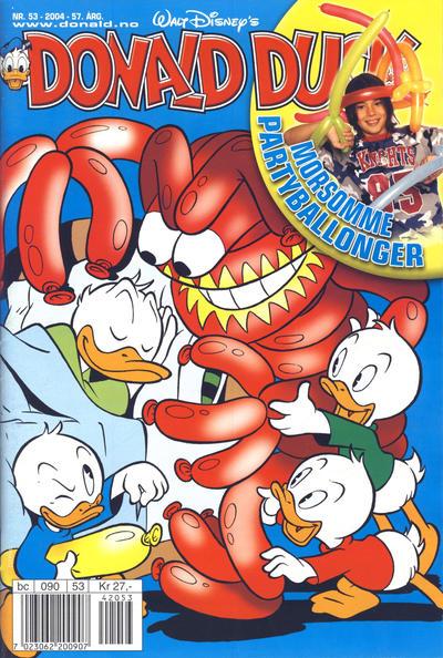 Cover for Donald Duck & Co (Hjemmet / Egmont, 1948 series) #53/2004