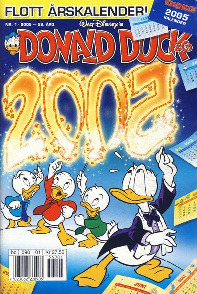 Cover for Donald Duck & Co (Hjemmet / Egmont, 1948 series) #1/2005