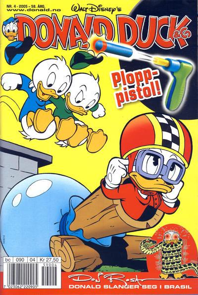 Cover for Donald Duck & Co (Hjemmet / Egmont, 1948 series) #4/2005