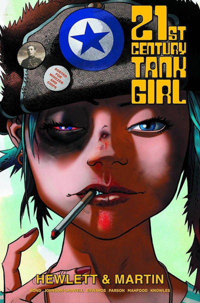 Cover for 21st Century Tank Girl (Titan, 2015 series)