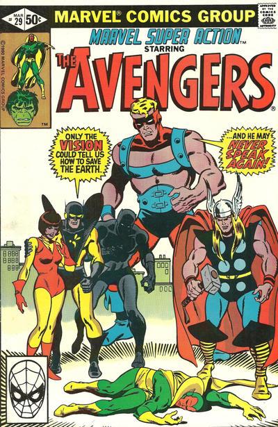Cover for Marvel Super Action (Marvel, 1977 series) #29 [Direct]