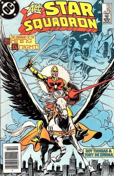 Cover for All-Star Squadron (DC, 1981 series) #62 [Direct Sales]