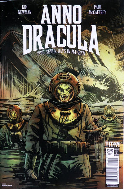 Cover for Anno Dracula: 1895: Seven Days in Mayhem (Titan, 2017 series) #1 [Cover B]