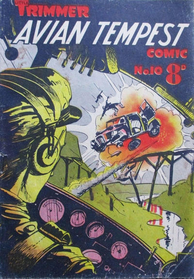 Cover for Little Trimmer Comic (Cleland, 1950 ? series) #10