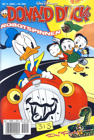 Cover for Donald Duck & Co (Hjemmet / Egmont, 1948 series) #5/2005