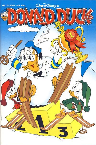 Cover for Donald Duck & Co (Hjemmet / Egmont, 1948 series) #7/2005