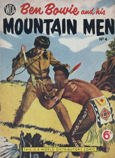 Cover for Ben Bowie and His Mountain Men (World Distributors, 1955 series) #4