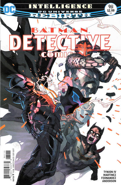 Cover for Detective Comics (DC, 2011 series) #961