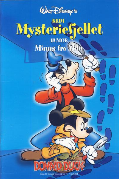 Cover for Bilag til Donald Duck & Co (Hjemmet / Egmont, 1997 series) #15/2004