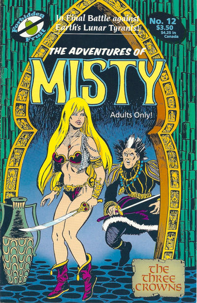 Cover for The Adventures of Misty (Apple Press, 1991 series) #12