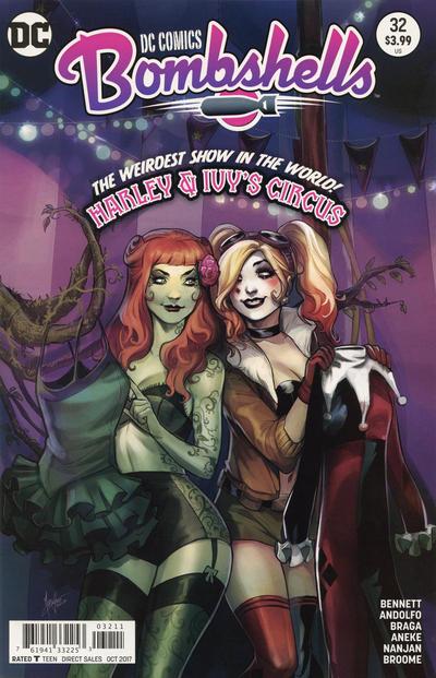 Cover for DC Comics: Bombshells (DC, 2015 series) #32