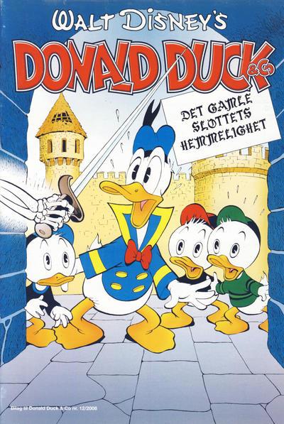 Cover for Bilag til Donald Duck & Co (Hjemmet / Egmont, 1997 series) #12/2008