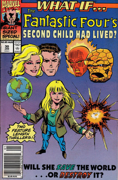 Cover for What If...? (Marvel, 1989 series) #30 [Australian]