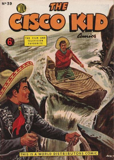 Cover for Cisco Kid (World Distributors, 1952 series) #39