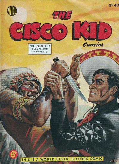 Cover for Cisco Kid (World Distributors, 1952 series) #40