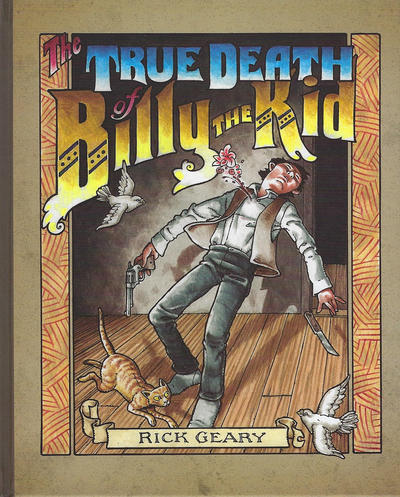 Cover for The True Death of Billy the Kid (Rick Geary, 2014 series)