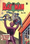 Cover Thumbnail for Batman (1950 series) #104 [1' price]