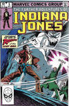Cover for The Further Adventures of Indiana Jones (Marvel, 1983 series) #5 [Direct]