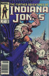 Cover for The Further Adventures of Indiana Jones (Marvel, 1983 series) #11 [Canadian]