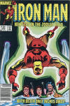 Cover for Iron Man (Marvel, 1968 series) #185 [Canadian Newsstand Edition]