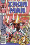 Cover for Iron Man (Marvel, 1968 series) #207 [Canadian Newsstand Edition]