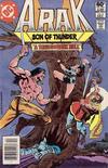 Cover for Arak / Son of Thunder (DC, 1981 series) #4 [Newsstand]