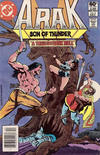 Cover for Arak / Son of Thunder (DC, 1981 series) #4 [Newsstand]