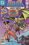 Cover for Arak / Son of Thunder (DC, 1981 series) #13 [Newsstand]