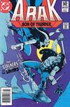 Cover for Arak / Son of Thunder (DC, 1981 series) #6 [Newsstand]