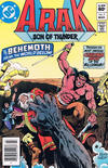 Cover for Arak / Son of Thunder (DC, 1981 series) #7 [Newsstand]