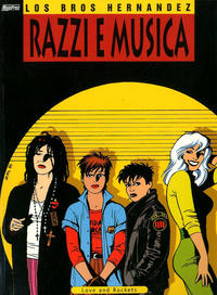 Cover Thumbnail for Love and Rockets (Magic Press, 1998 series) #0