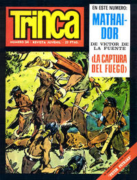 Cover Thumbnail for Trinca (Doncel, 1970 series) #34