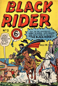 Cover Thumbnail for Black Rider (Streamline, 1952 ? series) #2