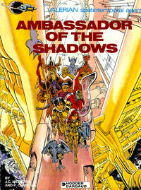 Cover for Valerian and Laureline (Cinebook, 2010 series) #6 - Ambassador of the Shadows