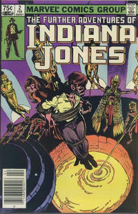 Cover Thumbnail for The Further Adventures of Indiana Jones (Marvel, 1983 series) #2 [Canadian]